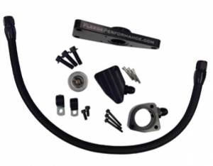Engine Parts - Coolant System Parts - Fleece - Fleece Performance Coolant Bypass Kit, Dodge (2007.5-16) 6.7L, Cummins