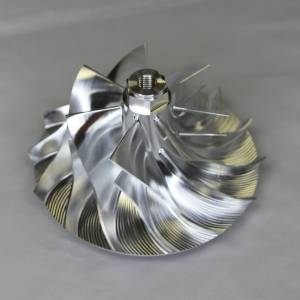 Turbos/Superchargers & Parts - Turbo Parts - AVP - AVP Boost Master Quick Spool Billet Compressor Wheel, Ford (2005-07) 6.0L Power Stroke (7+7 Blade)