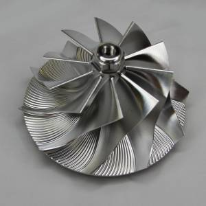 Turbos/Superchargers & Parts - Turbo Parts - AVP - AVP Billet Turbo Compressor Wheel, Ford (1999.5-03) 7.3L, GTP38R Garrett Turbos, Stage 2 (10 Blade)