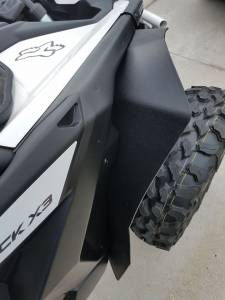 Holiday Super Savings Sale! - APEX Powersports Products Sale Items - APEX Powersports Products - APEX Extended Fender Flare Kit, Can Am Maverick X3 (2017-19) Front & Rear