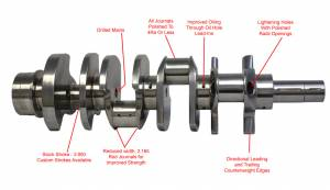 Engine Parts - Cam Shafts - Callies Precision Machine - Callies Precision Ultra Billet Crankshaft, Chevy/GMC, 6.6L Duramax