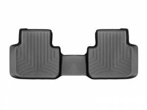 Weather Tech Front Floorliners, Volkswagen (2018) Atlas, Rear with Bench Seat, Black