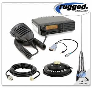 Rugged Radios - Rugged Radios Motorola VX2200U 45-Watt (UHF) Radio Kit