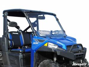 UTV Windshield - Full/ Vented Windshields - SuperATV - Polaris Ranger 900 Scratch Resistant Vented Full Windshield