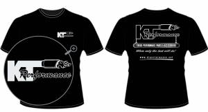 Apparel - KT Performance T-Shirts - KT Performance T-Shirt, Black (X-Large)