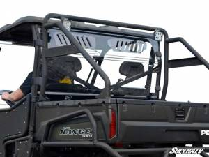 UTV Windshield - Rear Windshields - SuperATV - Polaris Ranger 900 Diesel Vented Full Rear Windshield