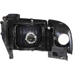 Anzo - Anzo Projector Headlight, Dodge (1994-01) 2500/3500 (Black Housing/ Clear Lens) - Image 2