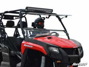 SuperATV - Arctic Cat Prowler Flip Windshield (Scratch Resistant)