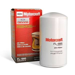 Engine Parts - Oil System & Filters - Ford Genuine Parts - Ford Motorcraft Oil Filter, Ford (1994-03) 7.3L Power Stroke (FL-1995)