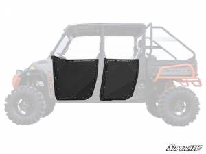 UTV/ATV - UTV Doors - SuperATV - Polaris Ranger 900 Aluminum Half Doors (Front and Rear Doors -Set of 4)
