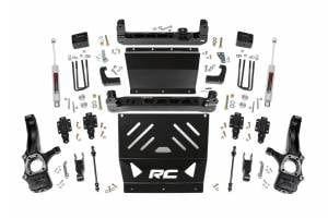 "Rough Country - Rough Country 4"" Suspension Lift Kit, Chevy/GMC (2015-18) Colorado/Canyon, 4wd (Gas)"