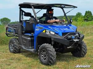 SuperATV - Polaris Ranger XP 1000 Scratch Resistant Flip Windshield Standard Cab (2017) - Image 5