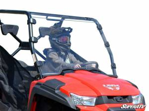 UTV Windshield - Full/ Vented Windshields - SuperATV - Kymco UXV Full Windshield - Scratch Resistant
