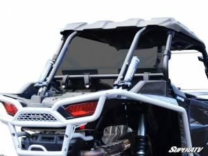 UTV Windshield - Rear Windshields - SuperATV - Polaris RZR XP Turbo Rear Windshield (Standard Polycarbonate) Dark Tint