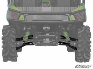 "UTV/ATV - UTV Radius Arms - SuperATV - Kawasaki Teryx High Clearance 1.5"" Rear Offset  A Arms, (2012-15) (Black)"