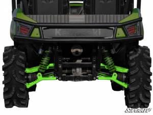 "UTV/ATV - UTV Radius Arms - SuperATV - Kawasaki Teryx High Clearance 1.5"" Rear Offset  A Arms (2012-15) (Green)"