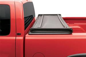 "Bed/Tonneau Covers - Vinyl Folding Tonneau Covers - Lund International - Lund International Genesis Tri-Fold Tonneau Cover, Ford (1999-18) F-250/F-350 (6'8"" Bed)"