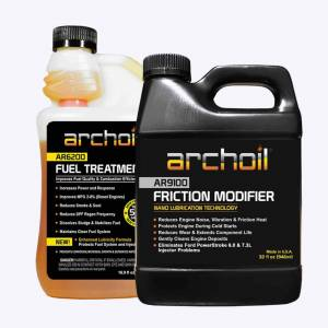 Additives & Fluids - Oil Treatment Additives - Archoil - Archoil Maintenance Kit 3 (32oz AR9100 oil treatment & 16oz AR6200 fuel treatment)
