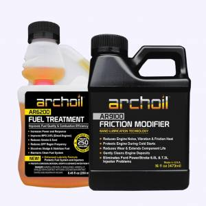 Additives & Fluids - Oil Treatment Additives - Archoil - Archoil Maintenance Kit 1  (16oz AR9100 oil treatment & 8.oz AR6200 fuel treatment)