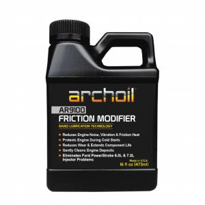 Motor Oil - Engine Oil Treatment Additives - Archoil - Archoil AR9100, Friction Modifier Oil Additive 16oz