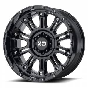 "XD Series - XD Series Hoss, 8x6.5"", 20"" x 12"", Gloss Black (-44 Offset)"