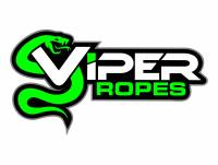 "Viper Ropes - Viper Ropes 1/2"" x 20' Off-Road Recovery Rope, Grey"