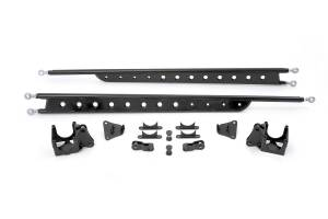Steering/Suspension Parts - Traction Bars - Fabtech - Fabtech Traction Bar Kit, Ford (1999-10) F-250/F350