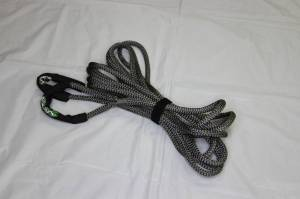 """Viper Ropes - Viper Ropes 1/2"""" x 30' Off-Road Recovery Rope, Grey - Image 2"""