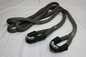 "Viper Ropes - Viper Ropes, 1"" x 20' Off-Road Recovery Rope, Grey - Image 3"