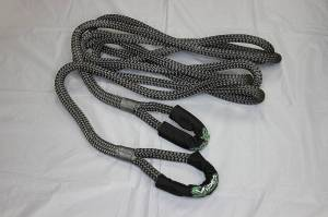 "Viper Ropes - Viper Ropes 7/8"" x 30' Off-Road Recovery Rope, Grey - Image 3"