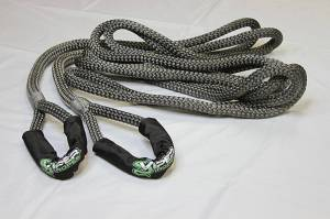 "Viper Ropes - Viper Ropes 3/4"" x 30' Off-Road Recovery Rope, Grey - Image 3"