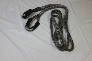"Viper Ropes - Viper Ropes 3/4"" x 20' Off-Road Recovery Rope, Grey - Image 3"