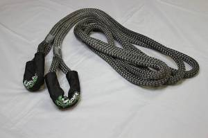"Viper Ropes - Viper Ropes 3/4"" x 20' Off-Road Recovery Rope, Grey - Image 4"