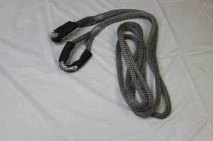"""Viper Ropes - Viper Ropes 7/8"""" x 20' Off-Road Recovery Rope, Grey - Image 3"""