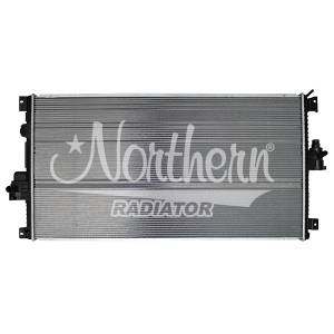 Northern  - Northern Aluminum Secondary Radiator, Ford (2011-17) 6.7L Power Stroke F-250/F-350/F-450/F-550