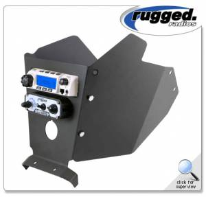 Rugged Radios - Rugged Radios Complete Intercom and Radio Mount for Can-Am X3