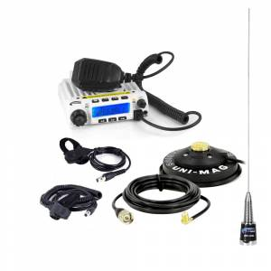 Electronic Accessories - VHF/UHF Radios - Rugged Radios - Rugged Radios RRP696 2-Place Intercom with 60 Watt Radio and Alpha Audio Helmet Kits