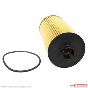 Oil System & Filters - Oil Filters - Ford Genuine Parts - Ford Motorcraft FL-2016 Oil Filter, Ford (2003-10) 6.0L & 6.4L Power Stroke
