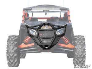 Brush Guards & Bumpers - Front Bumpers - Can-Am Maverick X3 Front Bumper (Red)