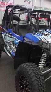 APEX Powersports Products - APEX Extended Fender Flare Kit, Polaris RZR XP 1000, RZR XP 1000-4 (2014-18) Front & Rear - Image 2