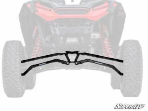 UTV/ATV - UTV Radius Arms - SuperATV - Polaris RZR XP Turbo S Boxed High Clearance Radius Arms (Black)