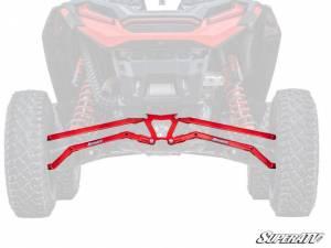 UTV/ATV - UTV Radius Arms - SuperATV - Polaris RZR XP Turbo S Boxed High Clearance Radius Arms (Red)