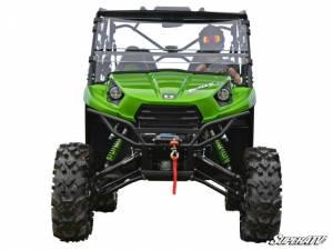 "UTV/ATV - UTV Radius Arms - SuperATV - Kawasaki Teryx 6"" Lift Kit,  (2016+)Rhino Axles,Green"