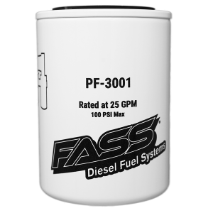 Fuel Pump Systems - Replacement Fuel Filters - FASS Diesel Fuel Systems - FASS Titanium Fuel Filter Filter