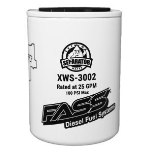 Fuel Pump Systems - Replacement Fuel Filters - FASS Diesel Fuel Systems - FASS HD & Titanium Series Replacement Fuel Filters, Extreme Water Separator