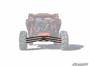 UTV/ATV - UTV Radius Arms - SuperATV - Can-Am Maverick X3, 72 inch, Tubed Radius Arms Complete Kit (Black)