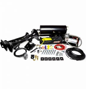 Kleinn - Kleinn Air Horn Kit, Ram (2014-19) 2500 & 3500 4 Door Short Bed (230 Beast Triple Train Horn) Complete Kit