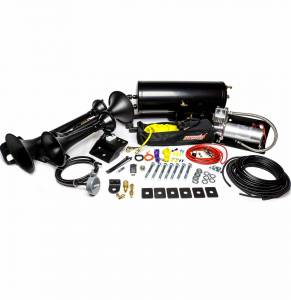 Kleinn - Kleinn Air Horn Kit, Ram (2014-19) 2500 & 3500 4 Door Short Bed (734 Demon Triple Train Horn) Complete Kit