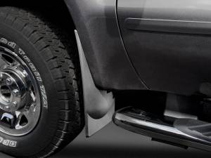 Weather Tech - Weather Tech Mud Flaps, Ford (2008-10) Super Duty, Front (without OE Fender Flares) Black - Image 1