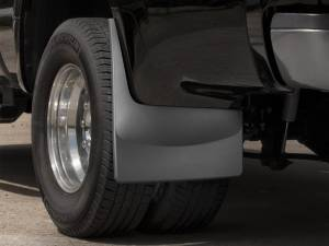 Weather Tech - Weather Tech Mud Flaps, Ford (2008-10) Super Duty, Rear (Dually) Black - Image 2